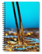 Water And Oil Spiral Notebook