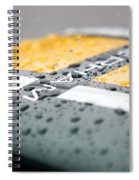 Water Drop Spiral Notebook