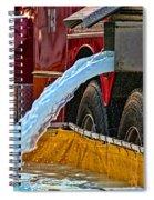 Water Dump Spiral Notebook