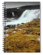 Waterfalls Of Iceland Spiral Notebook