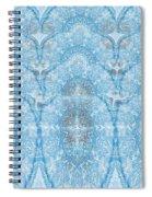 Wave 3d Effect Spiral Notebook