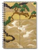 Waves At Matsushima Spiral Notebook