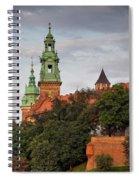 Wawel Royal Castle In Krakow Spiral Notebook