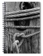 Weathered Rope Spiral Notebook