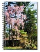 Weeping Cherry Spiral Notebook