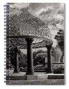 Wellspring Fountain - Council Bluffs Iowa Spiral Notebook