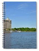 Westin Hotel On The Savannah Waterfront Spiral Notebook