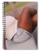 White And Jeans Spiral Notebook