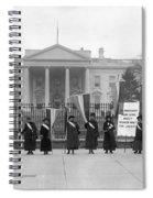White House: Suffragettes Spiral Notebook