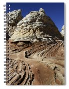 White Pockets 2358 Spiral Notebook