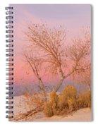 White Sands Sunset 1 Spiral Notebook