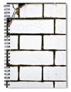 White Tiles Spiral Notebook