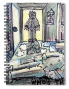 Who's There? Spiral Notebook