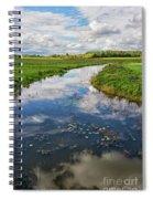 Wide Open.. Spiral Notebook