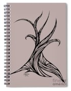 Willow Curve Spiral Notebook