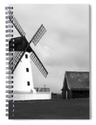 Windmill At Lytham St. Annes - England Spiral Notebook