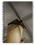 Windmills At Campo De Criptana Spiral Notebook