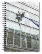 Window Cleaning Spiral Notebook