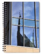 Window Reflections Spiral Notebook