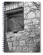 Window To The Past Spiral Notebook