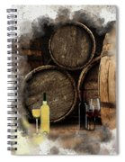 Wine For Life Spiral Notebook