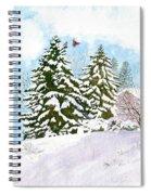 Winter Delight Spiral Notebook