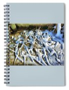 Winter Design Spiral Notebook