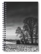 Winter Fields Spiral Notebook