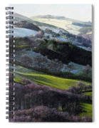 Winter In North Wales Spiral Notebook