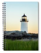 Winter Island Lighthouse, Salem Ma Spiral Notebook