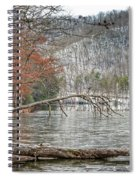 Winter Landscape At Hungry Mother State Park Spiral Notebook