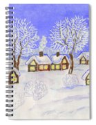 Winter Landscape, Painting Spiral Notebook