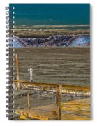 Winter On The Bay Spiral Notebook
