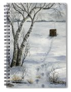 Winter Splendor Spiral Notebook