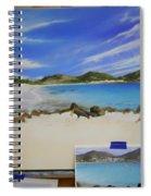 Wip- Orient Beach Spiral Notebook