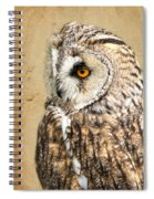 Wise Owl Spiral Notebook