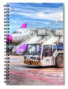 Wizz Air Airbus A321 Spiral Notebook