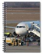 Wizz Air Jet And Fire Brigade   Spiral Notebook