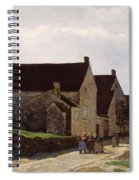 Women Going To The Woods Spiral Notebook