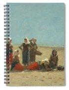 Women On The Beach At Berck Spiral Notebook