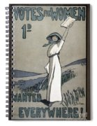 Womens Rights Spiral Notebook