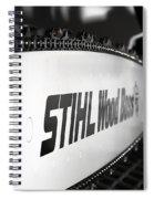 Wood Boss II Spiral Notebook