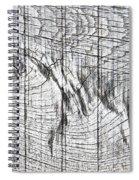 Wood Detail Spiral Notebook
