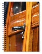 Woodie Handle Spiral Notebook