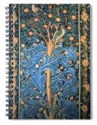 Woodpecker Tapestry Spiral Notebook