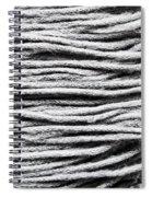 Wool Scarf Spiral Notebook