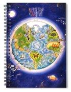 World Economy Spiral Notebook