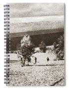 World War I: Zeppelin Spiral Notebook