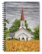 Worshiping Lilies 1 Spiral Notebook