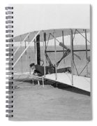 Wright Brothers Glider Spiral Notebook